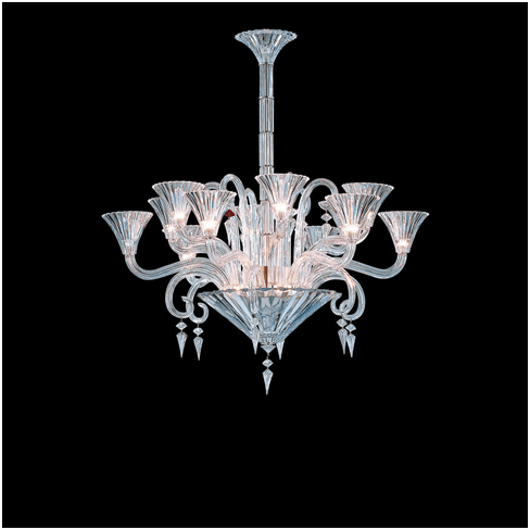baccarat style chandelier