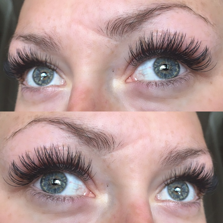 semi-permanent eyelashes