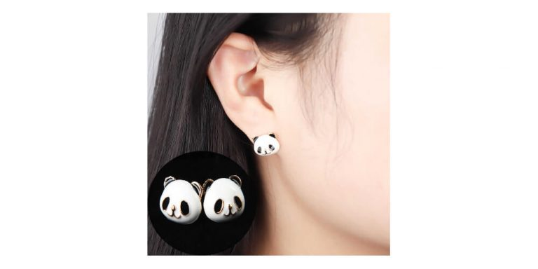 Elevating Your Office Look with Panda Earrings
