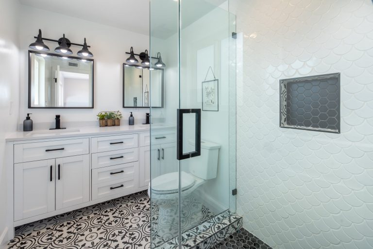 What would be the right color for your bathroom vanity unit?
